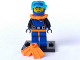 Set No: col01  Name: Deep Sea Diver, Series 1 (Complete Set with Stand and Accessories)