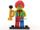 Set No: col01  Name: Circus Clown, Series 1 (Complete Set with Stand and Accessories)