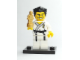 Set No: col02  Name: Karate Master, Series 2 (Complete Set with Stand and Accessories)