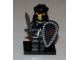 Set No: col07  Name: Evil Knight, Series 7 (Complete Set with Stand and Accessories)