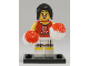 Set No: col08  Name: Red Cheerleader, Series 8 (Complete Set with Stand and Accessories)