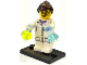 Set No: col11  Name: Scientist, Series 11 (Complete Set with Stand and Accessories)