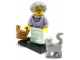Set No: col11  Name: Grandma, Series 11 (Complete Set with Stand and Accessories)