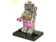 Set No: col11  Name: Lady Robot, Series 11 (Complete Set with Stand and Accessories)