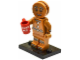 Set No: col11  Name: Gingerbread Man, Series 11 (Complete Set with Stand and Accessories)