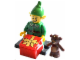 Set No: col11  Name: Holiday Elf, Series 11 (Complete Set with Stand and Accessories)