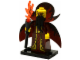 Set No: col13  Name: Evil Wizard, Series 13 (Complete Set with Stand and Accessories)