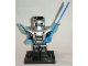 Set No: col15  Name: Laser Mech, Series 15 (Complete Set with Stand and Accessories)