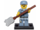Set No: col15  Name: Janitor, Series 15 (Complete Set with Stand and Accessories)