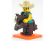Set No: col18  Name: Cowboy Costume Guy, Series 18 (Complete Set with Stand and Accessories)