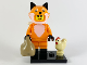 Set No: col19  Name: Fox Costume Girl, Series 19 (Complete Set with Stand and Accessories)