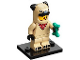 Set No: col21  Name: Pug Costume Guy, Series 21 (Complete Set with Stand and Accessories)