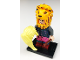 Set No: colhp2  Name: Luna Lovegood, Harry Potter, Series 2 (Complete Set with Stand and Accessories)