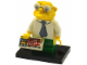 Set No: colsim2  Name: Hans Moleman, The Simpsons, Series 2 (Complete Set with Stand and Accessories)