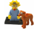Set No: colsim2  Name: Maggie and Santa's Little Helper, The Simpsons, Series 2 (Complete Set with Stand and Accessories)