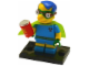 Set No: colsim2  Name: Fallout Boy Milhouse, The Simpsons, Series 2 (Complete Set with Stand and Accessories)
