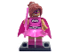 Set No: coltlbm  Name: Pink Power Batgirl, The LEGO Batman Movie, Series 1 (Complete Set with Stand and Accessories)