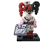 Set No: coltlbm  Name: Nurse Harley Quinn, The LEGO Batman Movie, Series 1 (Complete Set with Stand and Accessories)
