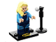 Set No: coltlbm2  Name: Black Canary, The LEGO Batman Movie, Series 2 (Complete Set with Stand and Accessories)