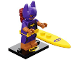 Set No: coltlbm2  Name: Vacation Batgirl, The LEGO Batman Movie, Series 2 (Complete Set with Stand and Accessories)