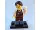 Set No: coltlm  Name: Larry the Barista, The LEGO Movie (Complete Set with Stand and Accessories)