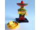 Set No: coltlm  Name: Taco Tuesday Guy, The LEGO Movie (Complete Set with Stand and Accessories)