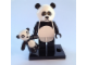 Set No: coltlm  Name: Panda Guy, The LEGO Movie (Complete Set with Stand and Accessories)