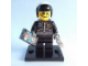 Set No: coltlm  Name: Scribble-Face Bad Cop, The LEGO Movie (Complete Set with Stand and Accessories)