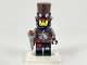 Set No: coltlm2  Name: Apocalypseburg Abe, The LEGO Movie 2 (Complete Set with Stand and Accessories)