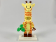 Set No: coltlm2  Name: Giraffe Guy, The LEGO Movie 2 (Complete Set with Stand and Accessories)