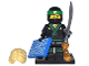 Set No: coltlnm  Name: Lloyd, The LEGO Ninjago Movie (Complete Set with Stand and Accessories)