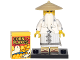 Set No: coltlnm  Name: coltlnm Master / Sensei Wu, The LEGO Ninjago Movie (Complete Set with Stand and Accessories)