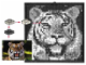 Set No: k34434  Name: Mosaic Tiger