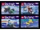 Set No: kabtec  Name: Kabaya Technic Vehicle 4-Pack