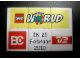 Set No: lwp03  Name: LEGO World Denmark Puzzle Promo 2010