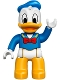 Minifig No: 47394pb217  Name: Duplo Figure Lego Ville, Donald Duck
