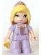 Minifig No: 47394pb242  Name: Duplo Figure Lego Ville, Disney Princess, Rapunzel