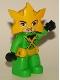 Minifig No: 47394pb270  Name: Duplo Figure Lego Ville, Electro