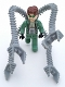Minifig No: 4j005  Name: Dr. Octopus / Doc Ock with Grabber Arms (Junior-fig)