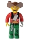 Minifig No: 4j010  Name: Pirates - Harry Hardtack