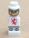 Minifig No: 85863pb002  Name: Microfigure Lava Dragon Knight White