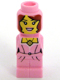 Minifig No: 85863pb071  Name: Microfigure Lego Champion Female Pink Dress