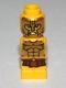 Minifig No: 85863pb086  Name: Microfigure Mini Taurus Gladiator Yellow