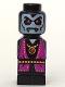 Minifig No: 85863pb092  Name: Microfigure Heroica Vampire Lord