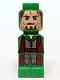 Minifig No: 85863pb109  Name: Microfigure Lord of the Rings Aragorn