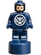 Minifig No: 90398pb006  Name: SHIELD Agent Statuette / Trophy