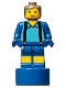 Minifig No: 90398pb039  Name: Jack Statuette / Trophy