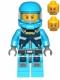 Minifig No: ac006  Name: Alien Defense Unit Soldier 3