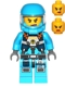 Minifig No: ac013  Name: Alien Defense Unit Soldier 5, Female