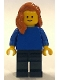 Minifig No: adp005  Name: Bikes! Woman